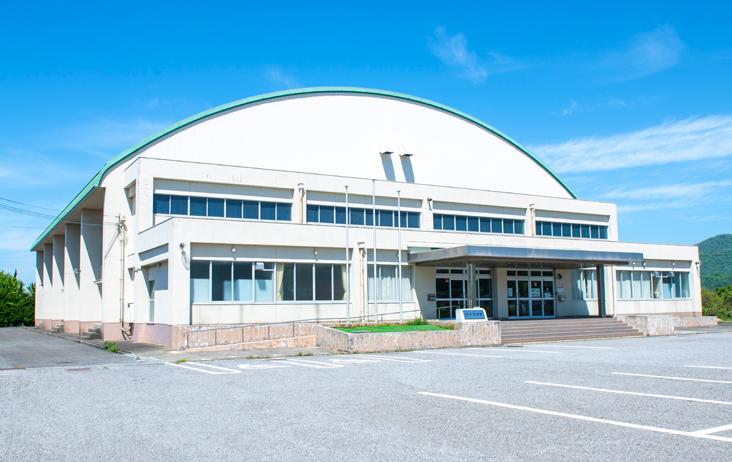浅井体育館外観