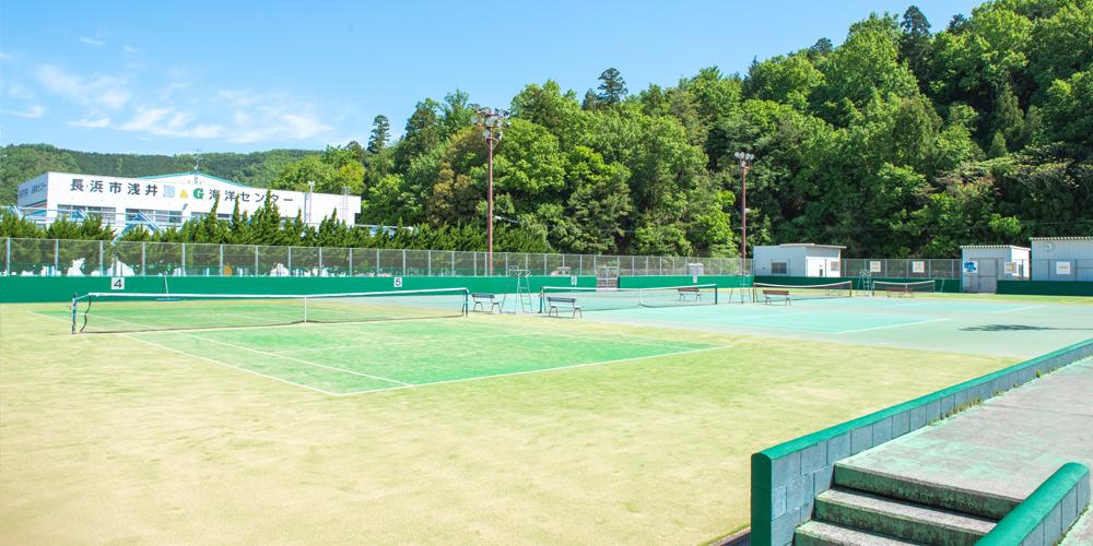浅井文化スポーツ公園テニスコート