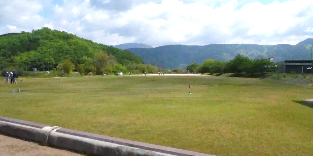 草野川河川敷グラウンド・ゴルフ場